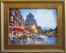 """West End Evening - St.Louis"" oil on canvas, Irek T. Szelag"