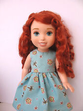 "Clothes for Clothes for Disney My First Princess Toddler Outfit~15"" Doll Dress"