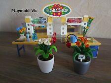 Playmobil Magasin de Fleurs Blumengeschäft Florist du 4484 très bon état
