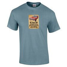 30 Year Old Ford Capri Funny 30th Birthday Gift T-Shirt 16 Colours - to 5XL