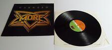 Warhead More Vinyl LP A3 B3 Pressing - EX