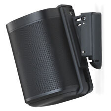 FlexsonFLXS1WM1021Tilt/Swivel Wall Bracket Mount for SonosONE/PLAY 1Single Black