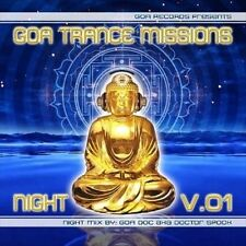Various Artists-`Goa Trance Missions Vol. 1 Night (Best of Goa Trance, Ac CD NEW