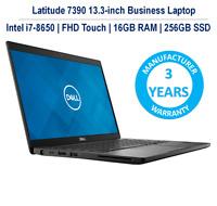 Dell Latitude 7390 Ultrabook i7-8650U FHD Touch 16GB 256GB 3YR Dell Warranty