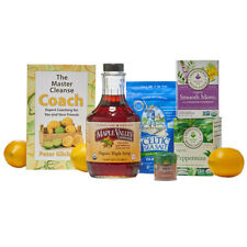 Maple Valley 5 Day Organic Master Cleanse Lemonade Detox/Kit with Coach Book
