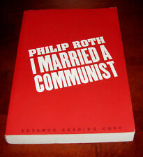 I Married a Communist, Philip Roth** 1st Edition Uncorrected Proof * Advance ARC