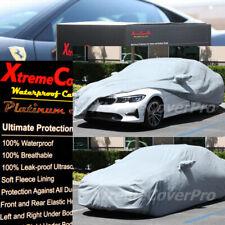 2019 2020 BMW 330I 340I 328D WATERPROOF CAR COVER W/MIRROR POCKET -GREY