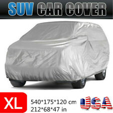 Full Car Cover Waterproof Sun UV Snow Dust Rain Resistant SUV Protection XL Size