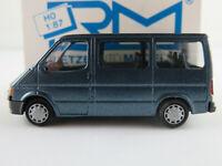 Rietze 20520 Ford Transit Bus (1986-1991) in petrolblaumetallic 1:87/H0 NEU/OVP