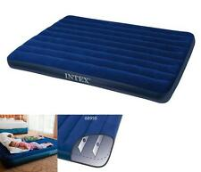 NEW Intex QUEEN SIZE Downy Inflatable Airbed Mattress Aerobed Camping Air Bed US