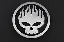 Le OFFSPRING Boucle de ceinture métal punk rock music Flaming Skull Emblème