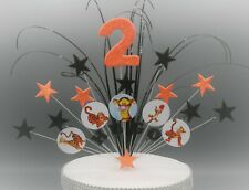 Cake Topper Stars Tigger Winnie the Pooh Piglet Eeyore Any Age Any Colour 001