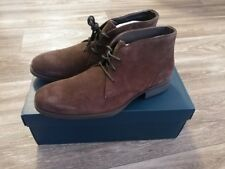 BRAND NEW COLE HAAN COPLEY CHUKKA 9.5 D JAVA SUEDE LEATHER BOOTS