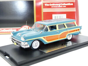Goldvarg GC-014A 1/43 1958 Ford Country Squire Woody Wagon Resin Model Car