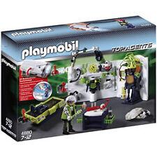 PLAYMOBIL 4880 Top Agents - Robo-gangster Labor mit Multifun