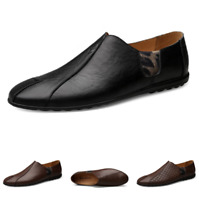 Mens Slip on Loafers Flats Soft Casual Pumps+Hollow out Driving Moccasins Shoes