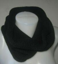 Echo Design Scarf Winter Chunky Knit Infinity Cowl Waterfall Black