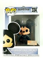 funko pop #334 Organization 13 Mickey Kingdom Hearts Funko Pop