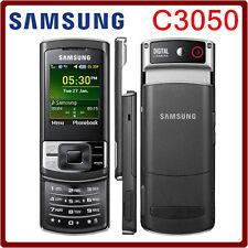 ORIGINAL Samsung GT C3050 Midnight Black 100% UNLOCKED Cellular Phone Warranty C