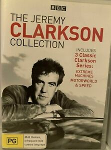 JEREMY CLARKSON DVD The Best of - Extreme Machines, Motorworld, Speed - 3 HOURS