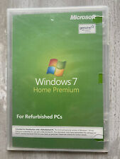 Microsoft Windows 7 Home Premium For Refurbished PC's No Code New