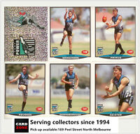 POPULAR-1997 Select AFL Collectable Stickers Base Team Set Port. Adel (13)