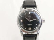 Rare Mens Omega Sea Master Cal 355 Bumper Date 1954 Black Dial Wristwatch 18000