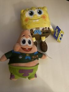 Cinemark Exclusive Spongebob Sponge On The Run Patrick Plushes NEW