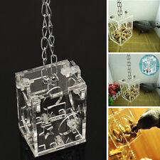 Acryl Vogelkäfig Hängen Foraging Cage Treatspielzeug Papageienspielzeug Toys