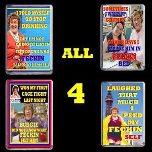 ALL 4 MRS BROWNS BOYS FRIDGE MAGNET ADULT JOKE NOVELTY GIFT BIRTHDAY DVD FUN NEW