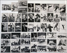 1936 Summer & Winter OLYMPICS official b/w photographs Germany sports