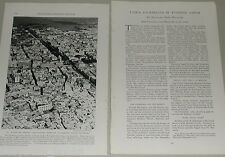 1937 magazine article about TUNISIA, pre-WWII goings on, history, North Africa
