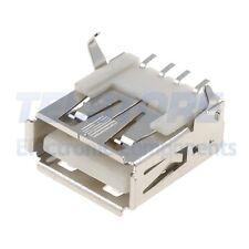 2 Connettore PRESA USB A SMD da saldare su PCB circuito stampato CN205
