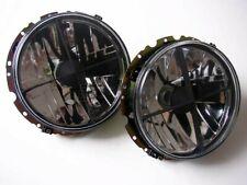 For VW Golf 1 Cabrio Caddy Beetle t2 Bus G w430 Clear Glass Headlight Crosshair -