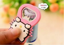 Selling! Silicone Rubber Cartoon Beer Bottle Opener Fridge Magnets