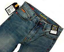 *058 NEU Sir Benni Miles Herren Jeans Hose Street Heroes W29/L34 mediumblue