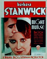 Night Nurse - 1931 - Barbara Stanwyck Joan Blondell Clark Gable Pre-Code DVD