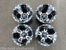 Suzuki LTZ400 VBW Sport Wheel Rim set Rim Rims in black silver