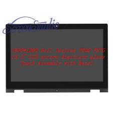LCD Touch Screen Assembly Bezel for Dell Inspiron 13 7000 Series P57g 7347 1080p