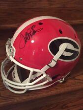 Terrell Davis Signed Full Size Helmet Georgia Bulldogs DAWGS JSA COA