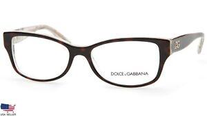 Dolce & Gabbana DG3204 2841 TORTOISE EYEGLASSES FRAME 53-16-140 (DISPLAY MODEL)