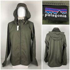 Patagonia Mens XL Long Jacket Level 4 Windshirt Gen II Green Lightweight NWT