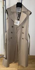 DAKS London Sleeveless Jacket Blazer Trench Coat Size UK 6 RRP £495 BRAND NEW!