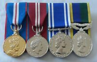 Court Mounted Full Size Medals, Jubilee, Police LSGC, TAVR, Territorial Army