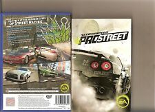 NEED FOR SPEED PROSTREET PLAYSTATION 2 PS 2 NFS RACING