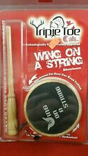 Triple Toe Calls Wing on a String Aluminum
