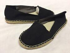 MIA Achilla Women's Canvas Loafers Flat Shoes, Black, Size 6 M ...FLAT 4