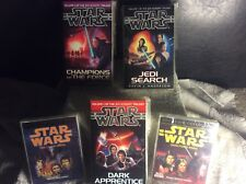 90s Star Wars EU Books And Audio Cassettes Bundle