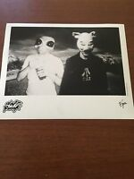 RARE Original Press Photo of Daft Punk an Electric Music Duo with Masks 1997