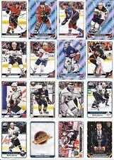 U PICK EM LOT 2019-20 19-20 Topps NHL Sticker Collection set w/ FOILs #1-630